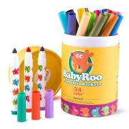 Mideer Washable Markers -Baby Roo 12 Colors (JM08152)