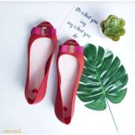 Emmi Slipper Footwear - Red (005)