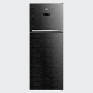 Beko 440 Lt, Two Doors (Glass) Refrigerator - RDNT440E50VZGB