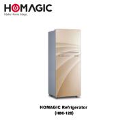Homagic 2 Door Refrigerator 120 L (HBC-128)