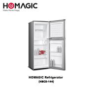 Homagic 2 Door Refrigerator 138 L (HBCD-144)