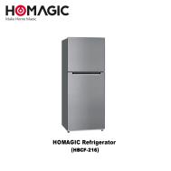 Homagic 2 Door Refrigerator 197 L (HBCF-216)