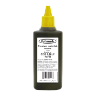 Fullmark Universal Printer Inkjet Refill Ink - 100ml (Yellow)