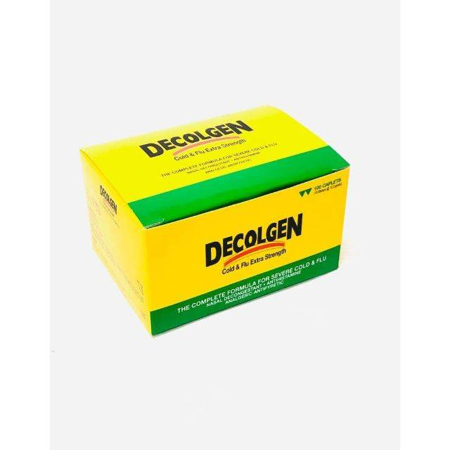 Decolgen Cold & Flu 10S