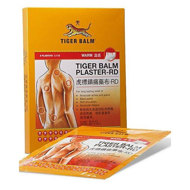Tiger Plaster Warm( Thai) Big