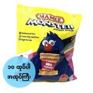 Mamee Monster Noodle Snack BBQ Flavour 25gmx10s